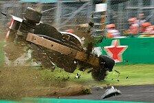 Formel 1, Sainz nach Ericsson-Crash: DRS gefährlich, sollte weg