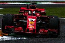 Formel 1 Monza 2018, Trainingsanalyse: Vettel dominiert