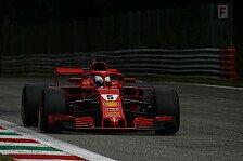 Formel 1, Monza: Vettel im 3. Training hauchdünn vor Hamilton
