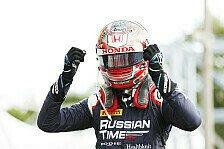 Formel 2, Monza: Sensationssieg für Tadasuke Makino