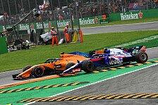 Gasly nach Monza-Crash sauer: Alonso mag Honda-Fahrer nicht