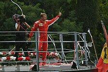Formel 1 Monza: Neuer Speed-Rekord, Räikkönen im Club der 100er