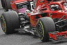 Formel 1: Pirelli nominiert Reifen für Italien GP in Monza