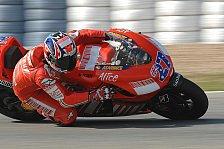 MotoGP - Casey Stoner ist bester Laune