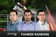 Formel-1-Fahrerranking Monza: Hamilton macht Ferrari-Asse nass