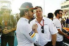 Formel 1, McLaren 2019 mit Rookie & Neuling: Hilft Alonso?