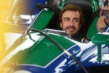 Fernando Alonso beendet ersten IndyCar-Test auf Road Course