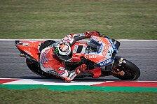 MotoGP Misano: Lorenzo mit Rundenrekord, Marquez fliegt ab
