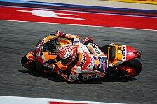MotoGP Aragon 2018: Marquez schlägt Ducati im 2. Training