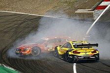 DTM-Unfall am Nürburgring: Glock entschuldigt sich bei Auer