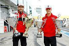 Mick Schumacher und Rene Rast: Pokalhelden des Nürburgrings