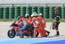 MotoGP Misano - Jorge Lorenzo: Kampf vs Marquez Schuld an Sturz