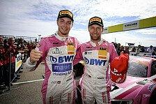 ADAC GT Masters Sachsenring 2018: Jeffrey Schmidt auf Podest