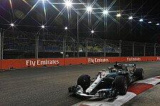 Formel 1, Mercedes fasst Mut: Singapur-Schwäche 2018 getilgt?