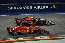 Formel 1 2018 Singapur: Rennen kompakt