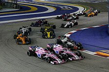 Formel 1, Perez stürzt Force India ins Verderben: Strafe fair
