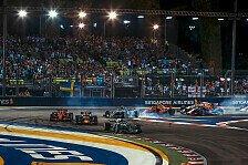 Formel 1 Singapur-Vorschau: Schlagen Mercedes, Red Bull zurück?