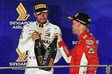 Formel 1, Hamilton kritisiert Presse wegen Vettel: mehr Respekt