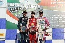 F4 Italien, Vallelunga: Mücke Motorsport viermal in den Top-10