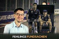 Formel 1, Fehlings Fundsachen: Ricciardo strampelt für Max