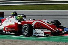 Mick Schumacher: Triple-Pole bei Formel-3-EM Spielberg