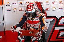 MotoGP Aragon 2018: Marc Marquez crasht im 4. Training