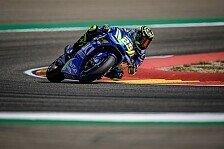 MotoGP Aragon 2018: Iannone im Warm-Up vorn, Marquez stürzt