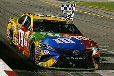 NASCAR Richmond: 50. Jubiläums-Sieg für Kyle Busch