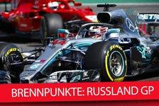 Formel 1 Sotschi 2018: Die heißesten Fragen in Russland