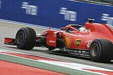 Formel 1 Trainingsanalyse Sotschi: Ferrari noch hinter Red Bull