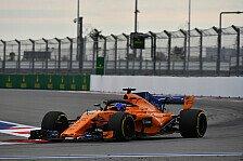 F1, Norris qualifiziert Alonsos Auto: Startplatz vor Red Bull