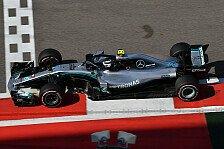 Formel 1, Russland: Bottas holt Pole, Hamilton vor Vettel