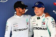 Formel 1, Hamilton 'verschlampt' Pole: Kann nicht immer klappen