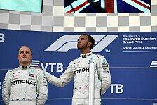 Formel 1, Hamilton beteuert: Wollte keine Mercedes-Teamorder