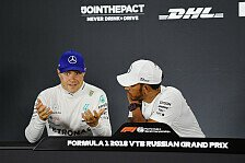 Formel 1 Japan, Bottas: Bleibe trotz Mercedes-Teamorder Racer