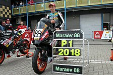 ADAC Junior Cup: Meister Maraev im Portrait