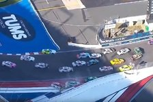 NASCAR - Video: NASCAR Charlotte 2018: Crash-Festival bei der Roval-Premiere
