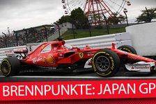Formel 1 Japan 2018: Die heißesten Fragen zum Rennen in Suzuka