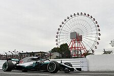 Formel 1 Japan 1. Training: Mercedes demoralisiert Ferrari