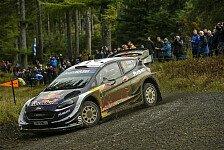 WRC Rallye Großbritannien-Wales 2018: Ogier feiert fünften Sieg