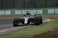 Formel 1, Japan: Hamilton im 2. Training unantastbar