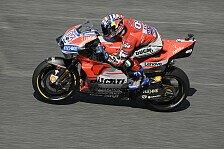 MotoGP Motegi 2018: Dovizioso mit Bestzeit im 1. Training