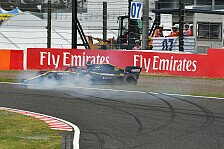 Formel 1, Hamilton gewinnt Qualifying-Generalprobe, Hulk crasht