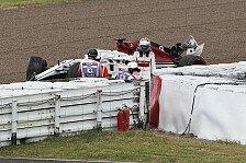Formel 1 Japan, Ericsson crasht: Wind, Verkehr und Unvermögen
