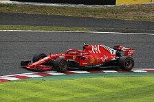 Formel 1 Japan: Kimi Räikkönen rettet nach Ferrari-Patzer P4