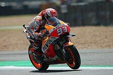 MotoGP Thailand 2018: Marc Marquez führt Warm Up an