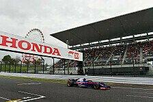 Formel 1, Toro Rosso im Japan-Glück: Q3-Sensation dank Honda