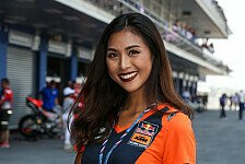 MotoGP Thailand 2018: Grid Girls in Buriram