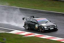 DTM - Spa-Francorchamps, Tag 2: Frentzen auch im Regen Schnellster