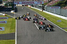Formel 1 Japan: FP2-Ergebnis bei Quali-Absage Startaufstellung